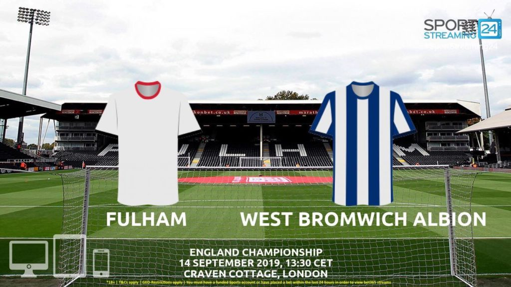 Thumbnail image for Fulham v West Brom Live Streaming | Championship