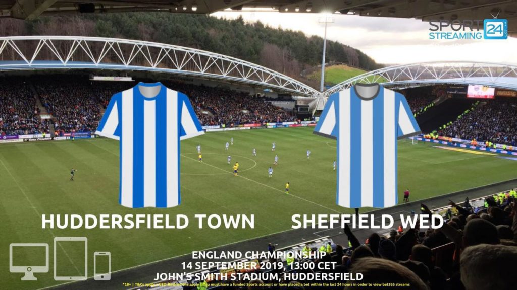 Thumbnail image for Huddersfield v Sheffield Wednesday Live Streaming | Championship