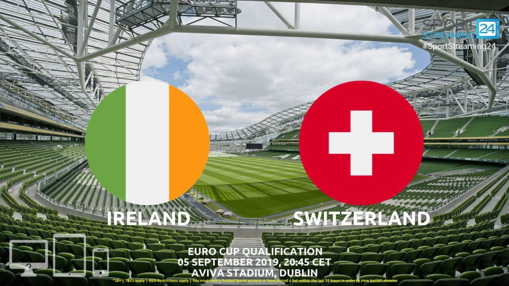 Thumbnail image for Ireland v Switzerland Live Stream Betting Odds