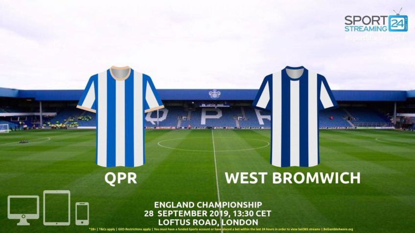 qpr west brom live stream betting odds