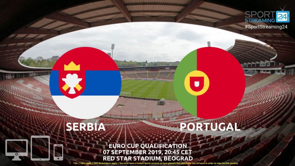 Thumbnail image for Serbia v Portugal Live Streaming | EURO 2020 Qualifiers