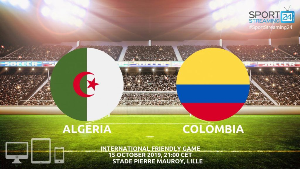 Thumbnail image for Algeria v Colombia Live Streaming | International Friendly