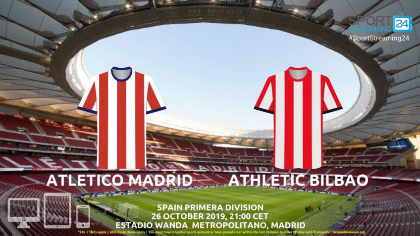 atletico madrid athletic bilbao live stream betting odds