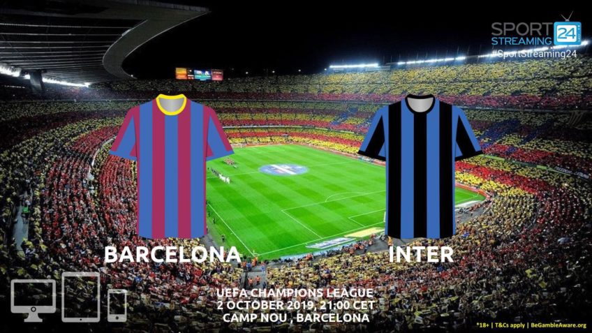 barcelona inter live stream betting odds