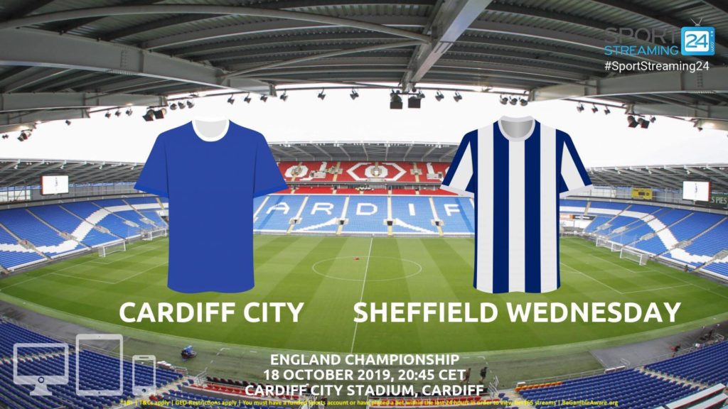 Thumbnail image for Cardiff v Sheffield Wednesday Live Streaming | Championship