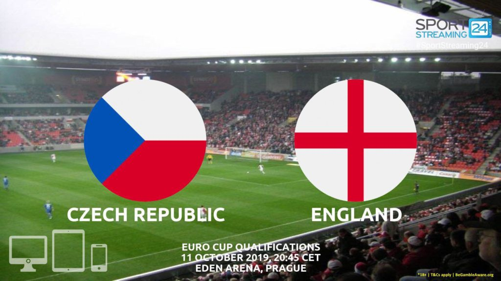 Thumbnail image for Czech Republic v England Live Stream Betting Odds