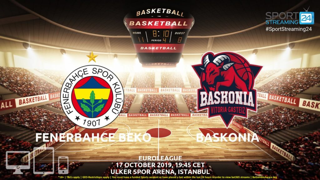 Thumbnail image for Fenerbahce vs Baskonia Live Stream | Eurocup