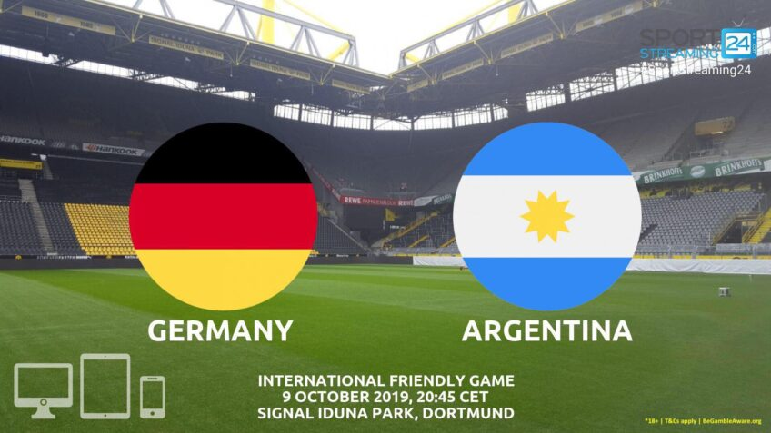 germany argentina live stream betting odds
