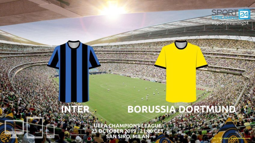 inter dortmund live stream betting odds