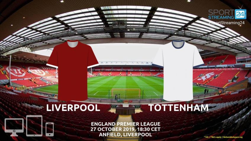 liverpool tottenham live stream betting odds