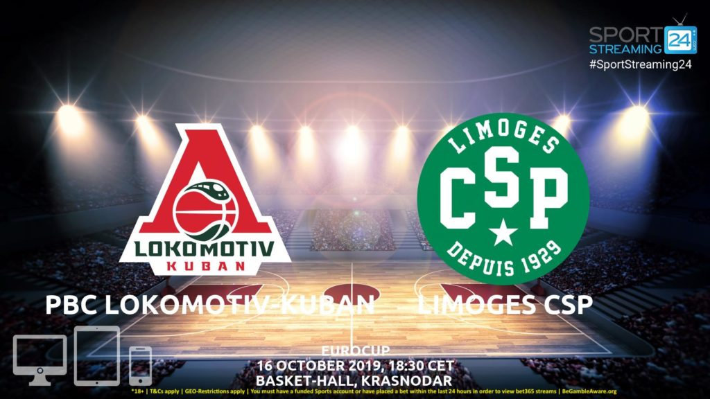Thumbnail image for Lokomotiv Kuban  Limoges  Live Stream | Eurocup