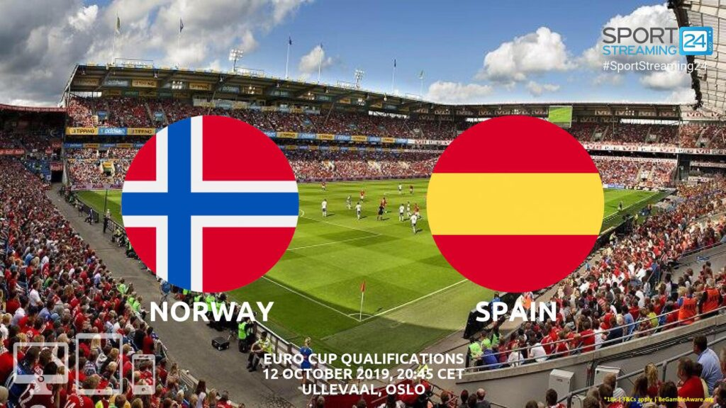 Thumbnail image for Norway v Spain Live Stream Betting Odds