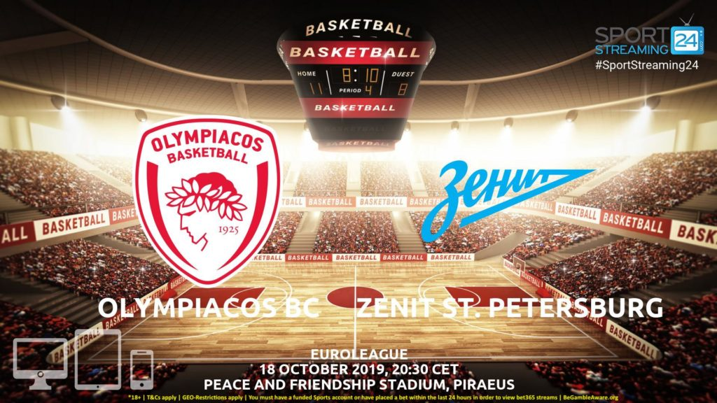 Thumbnail image for Olympiacos vs Zenit St.Petersburg Live Stream | Eurocup