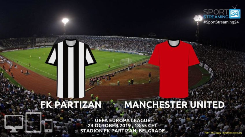partizan manchester united live stream betting odds
