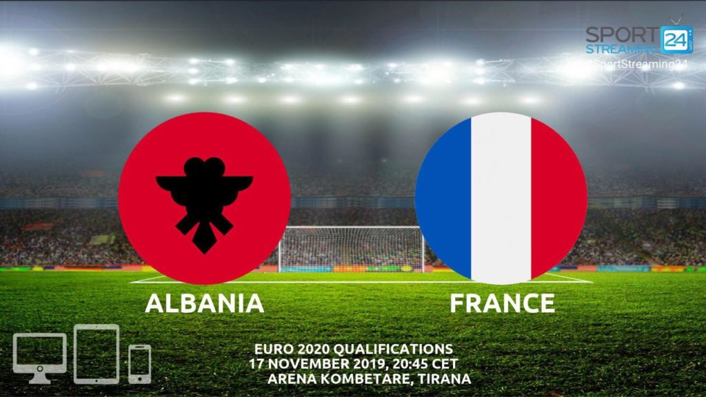 Thumbnail image for Albania v France Live Stream Betting Odds