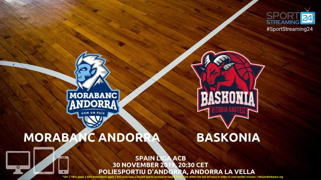 Thumbnail image for Andorra v Baskonia Live Stream | Euroleague