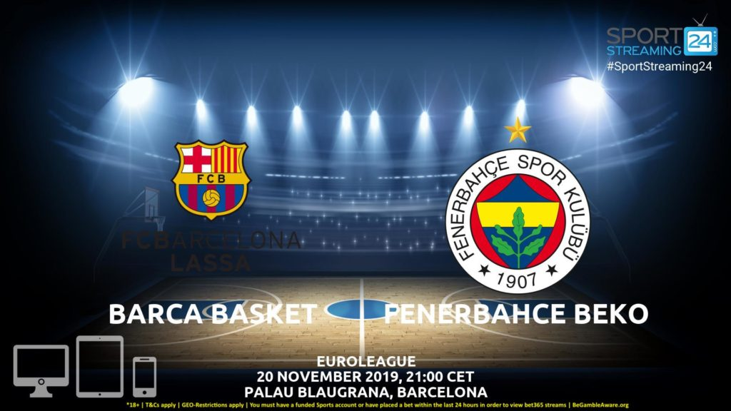 Thumbnail image for Barcelona v Fenerbahce Live Stream | Euroleague