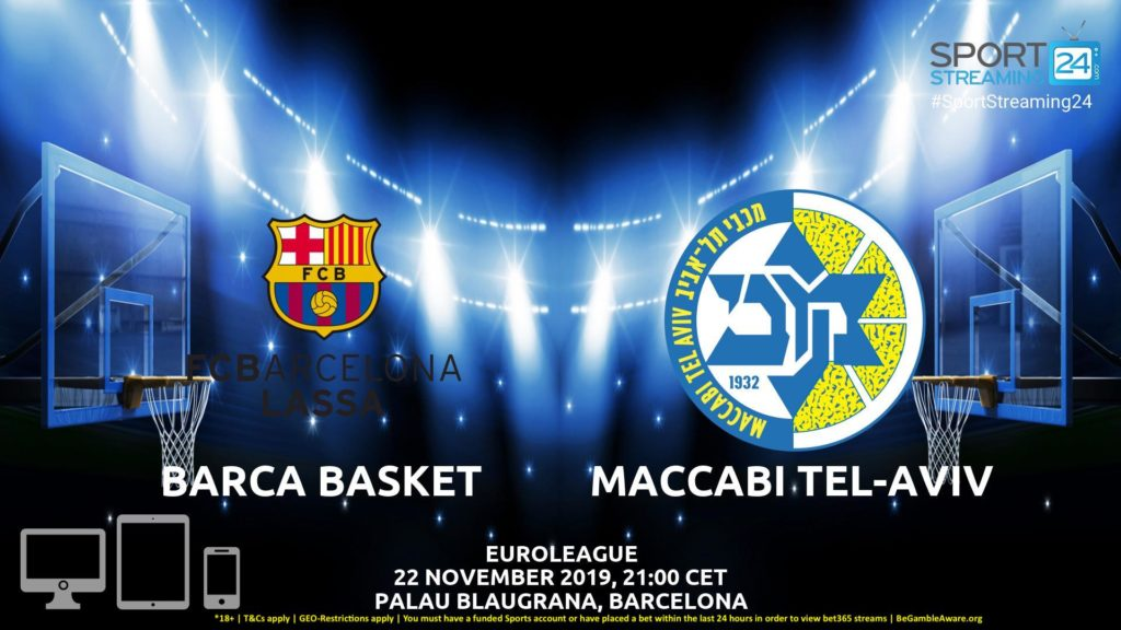 Thumbnail image for Barcelona v Maccabi Tel Aviv Live Stream | Euroleague