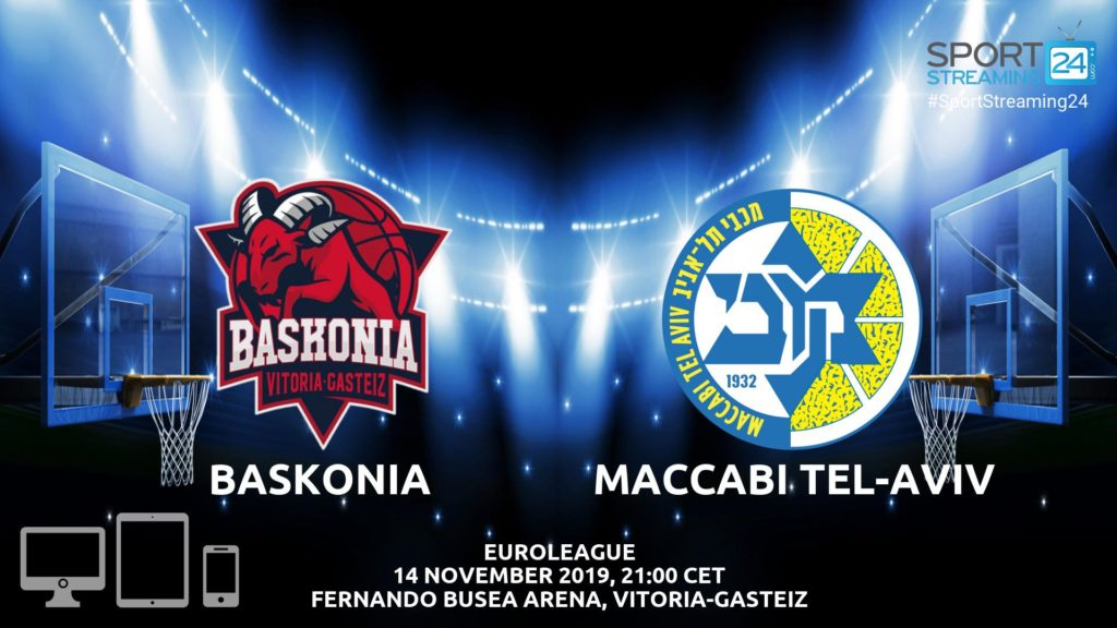 Thumbnail image for Baskonia v Maccabi Live Stream | Euroleague