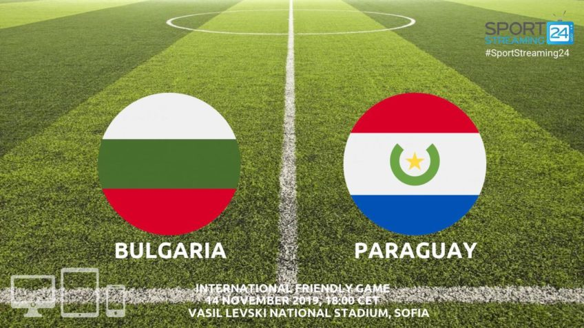 bulgaria paraguay live stream betting odds