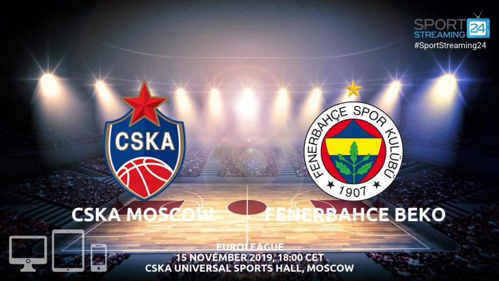 Thumbnail image for CSKA Moscow v Fenerbahce Live Stream | Euroleague