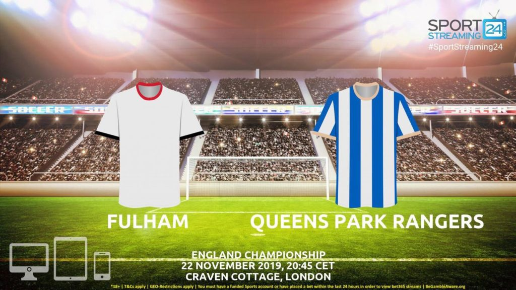 Thumbnail image for Fulham v QPR Live Streaming | Championship
