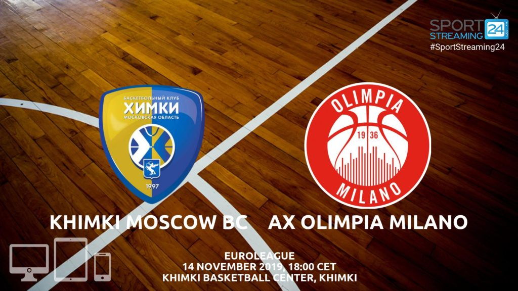 Thumbnail image for Khimki Moscow v Olimpia Milano Live Stream | Euroleague