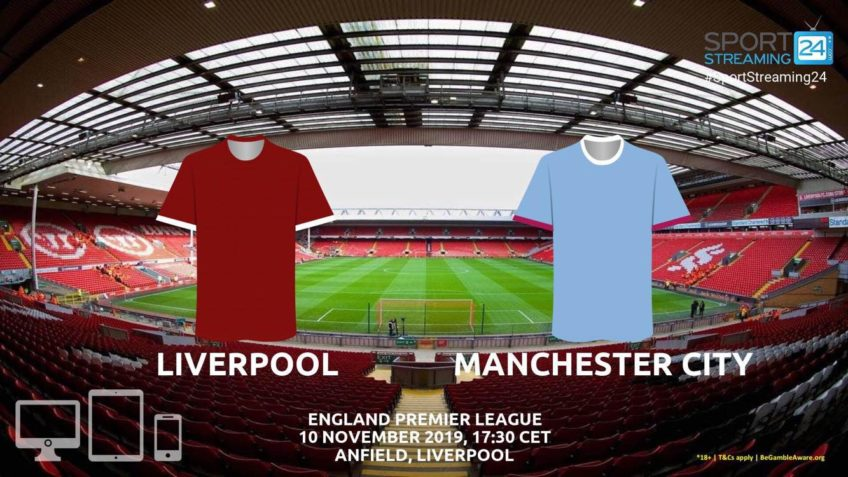 liverpool manchester city live stream betting odds