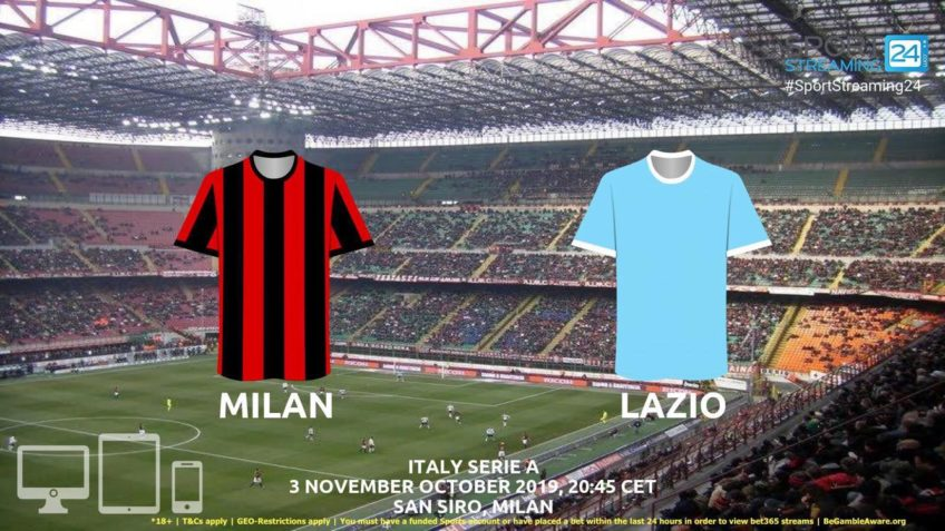 milan lazio stream betting odds