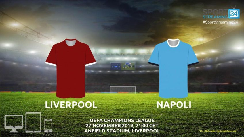 liverpool napoli live stream betting odds
