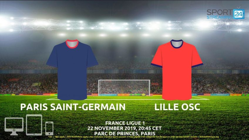 paris saint germain lille live stream betting odds