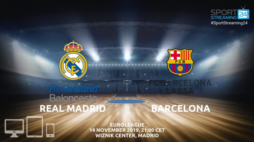 Thumbnail image for Real Madrid v Barcelona Live Stream | Euroleague