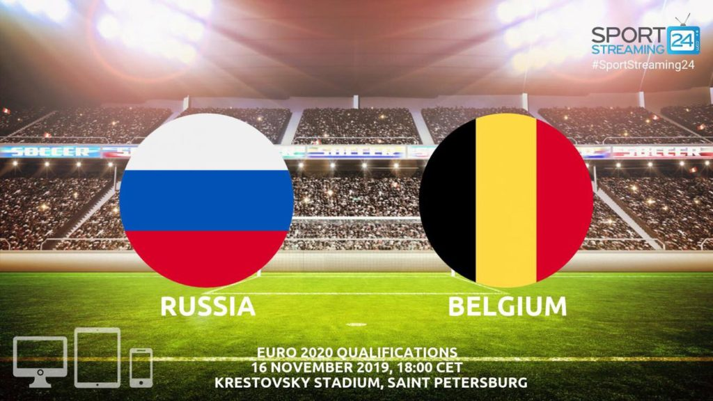 Thumbnail image for Russia v Belgium Live Stream Betting Odds