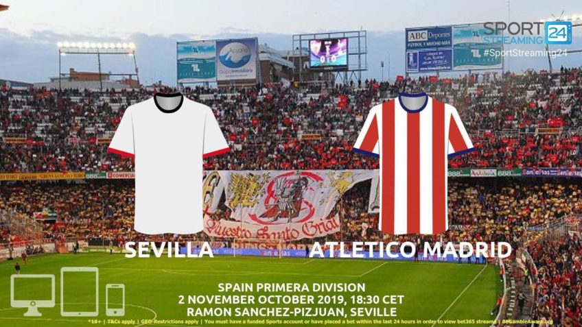 sevilla atletico madrid live stream betting odds