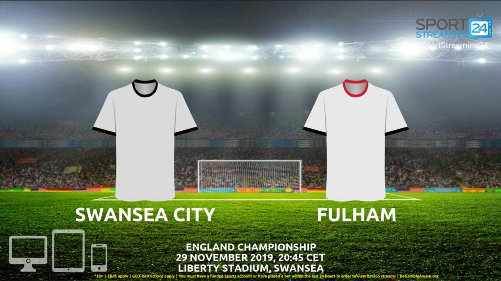 Thumbnail image for Swansea v Fulham Live Streaming | Championship