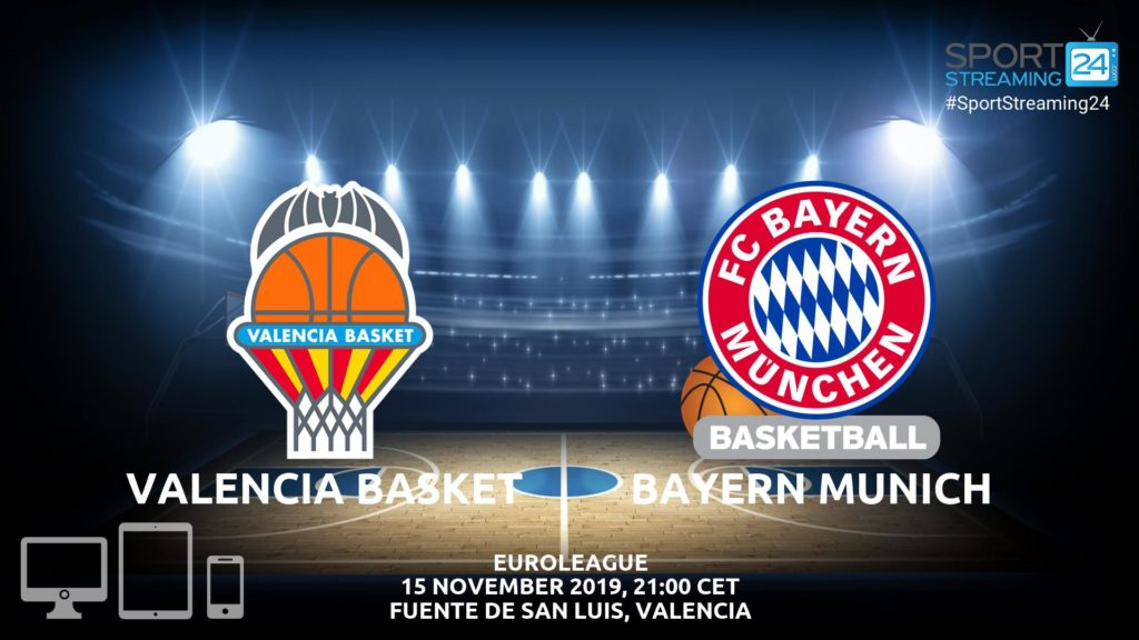 Thumbnail image for Valencia v Bayern Munich Live Stream | Euroleague