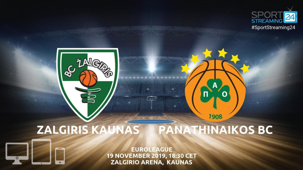 Thumbnail image for Zalgiris Kaunas v Panathinaikos Live Stream | Euroleague