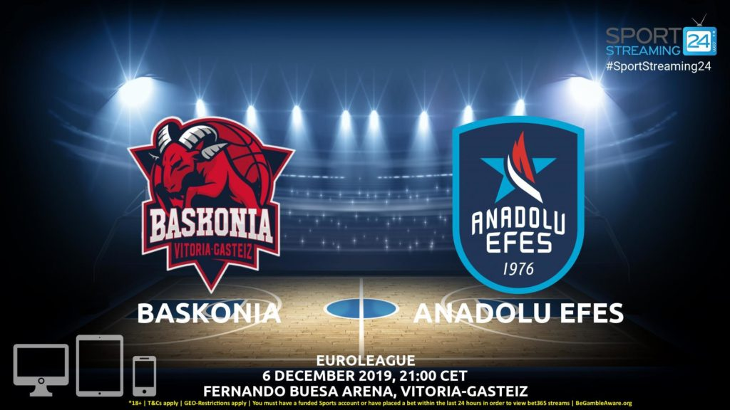 Thumbnail image for Baskonia v Anadolu Efes Live Stream | Euroleague