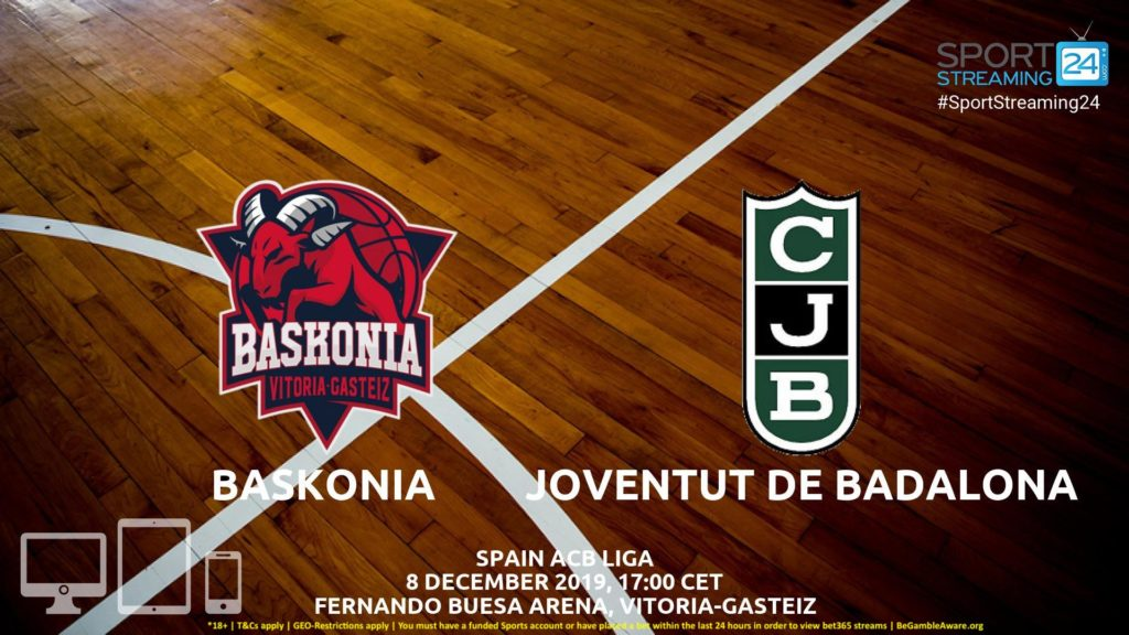 Thumbnail image for Baskonia v Joventut De Badalona Live Stream | Euroleague