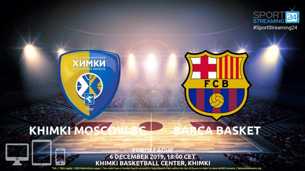 Thumbnail image for Khimki Moscow v Barcelona Live Stream | Euroleague