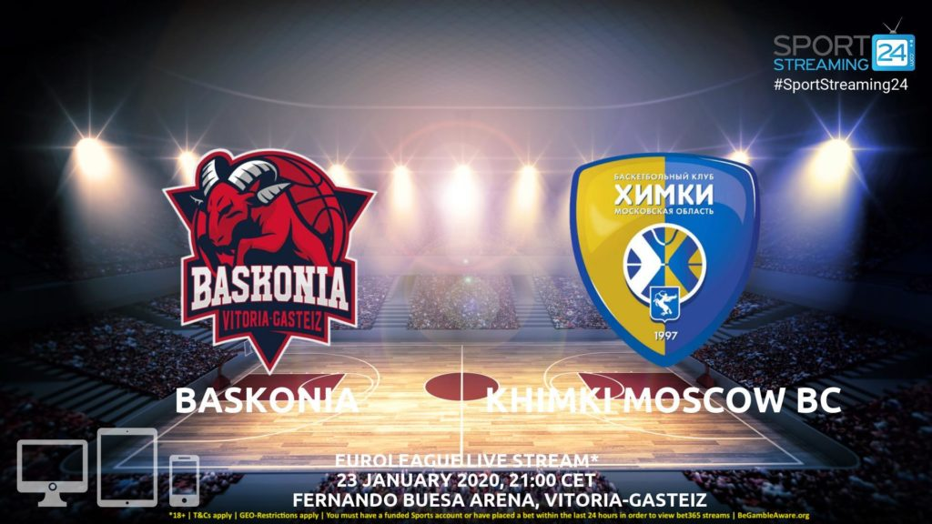 Thumbnail image for Baskonia vs Khimki Moscow Live Stream | Euroleague
