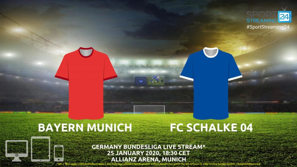 Thumbnail image for Bayern Munich v FC Schalke 04 Live Stream* | Bundesliga Germany