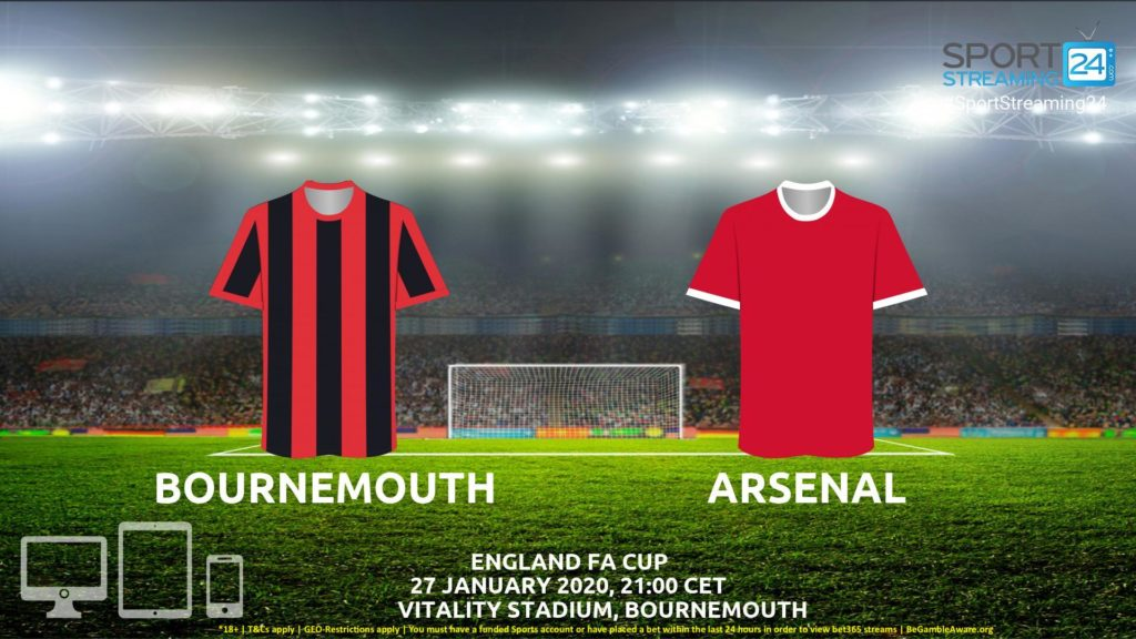 Thumbnail image for Bournemouth v Arsenal  Live Stream* | FA Cup England