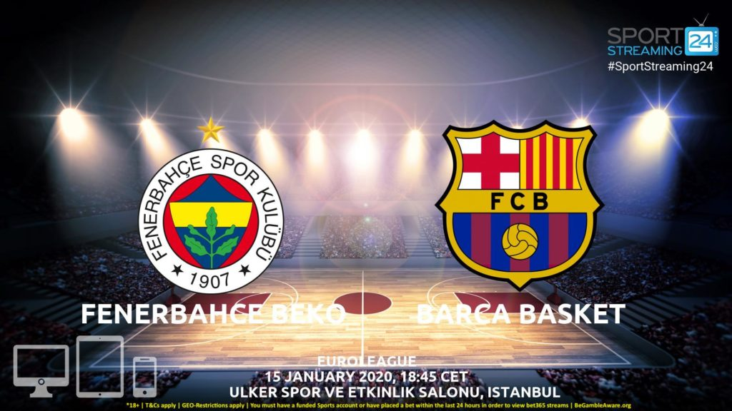 Thumbnail image for Fenerbahce vs Barcelona Live Stream | Euroleague