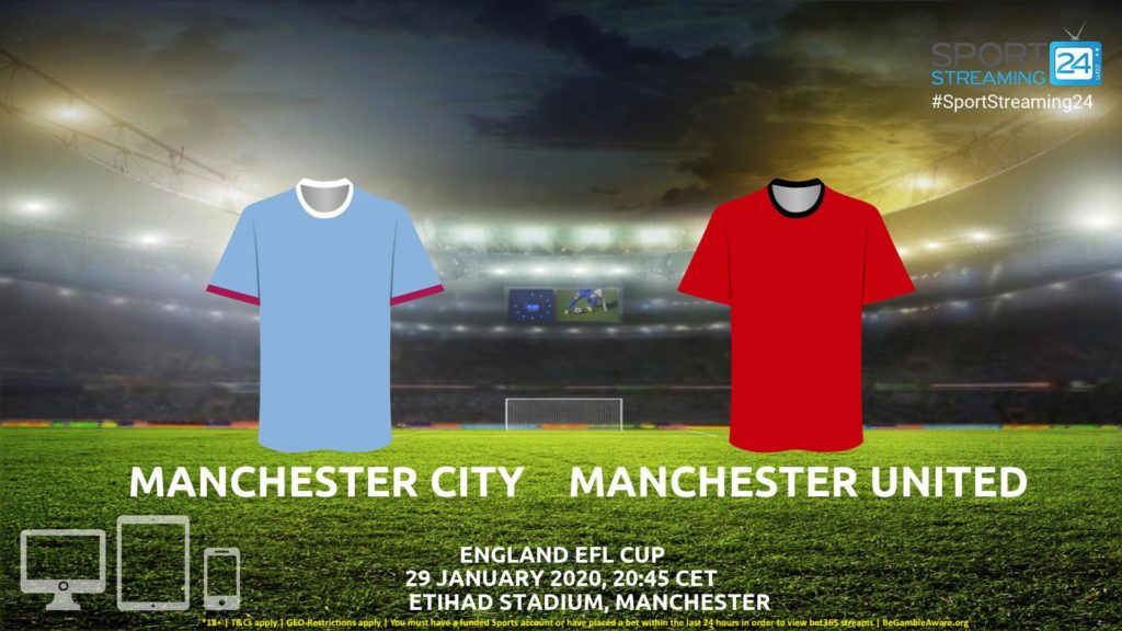Thumbnail image for Manchester City vs Manchester United Live Stream* | EFL Cup England