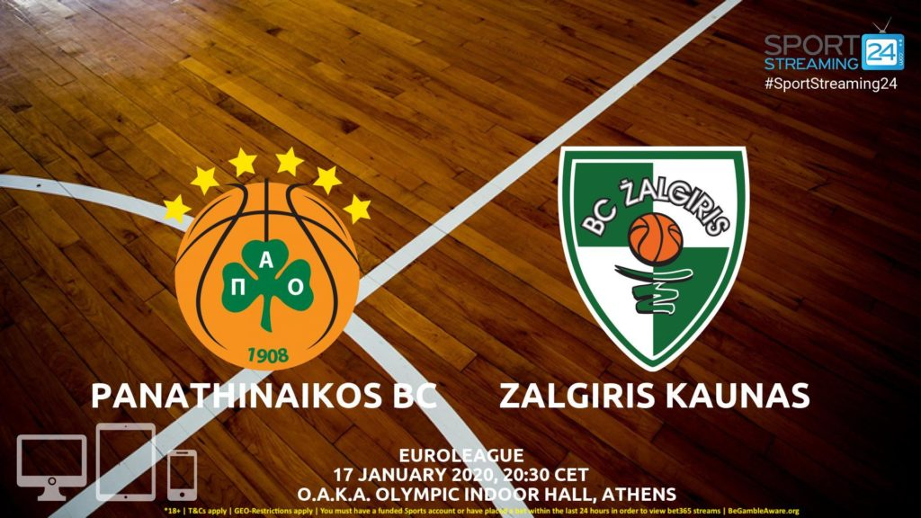 Thumbnail image for Panathinaikos vs Zalgiris Kaunas Live Stream | Euroleague