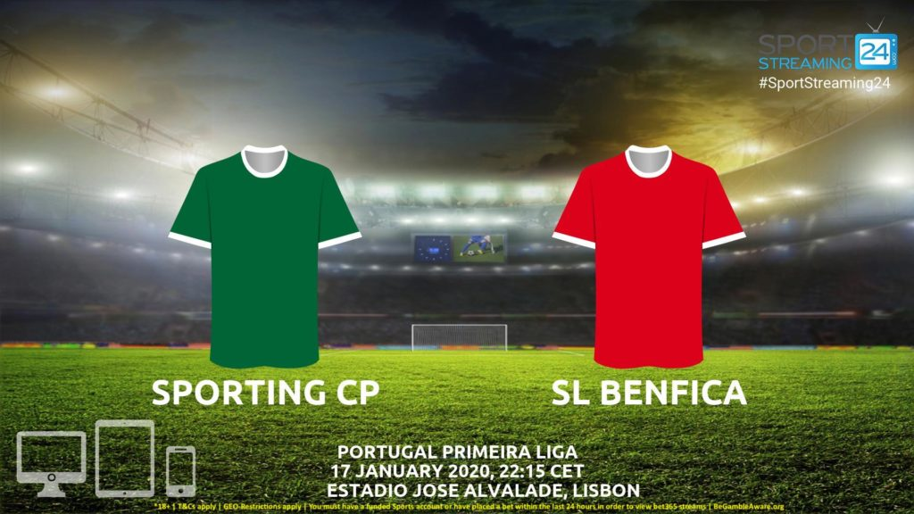 Thumbnail image for Sporting CP vs Benfica Live Stream | Primeira Liga