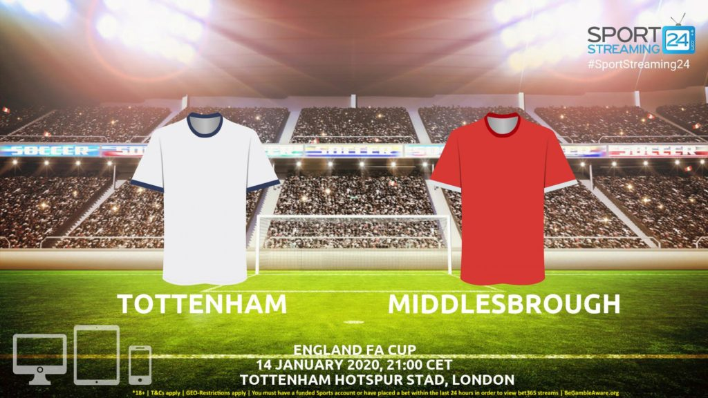 Thumbnail image for Tottenham vs Middlesbrough Live Stream | FA Cup