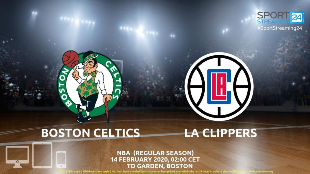 Thumbnail image for Boston Celtics vs LA Clippers Live Stream | NBA