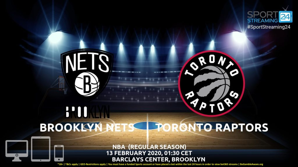 Thumbnail image for Brooklyn Nets vs Toronto Raptors Live Stream | NBA